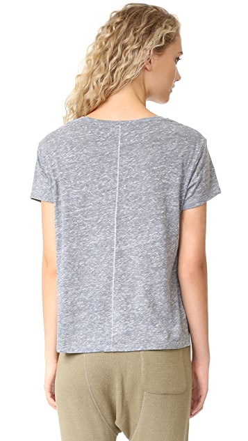 SUNDRY Static Heart Loose Tee