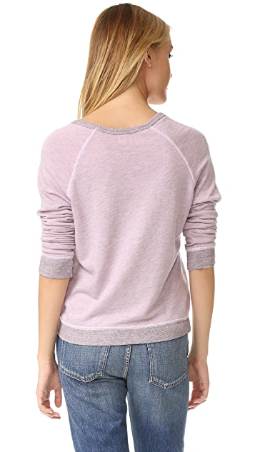 SUNDRY Patches Sweatshirt