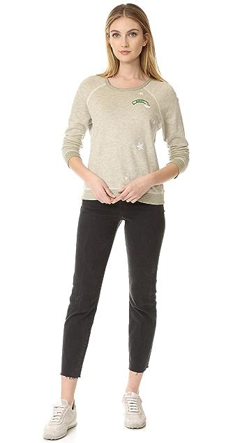 SUNDRY Patches Sweatshirt