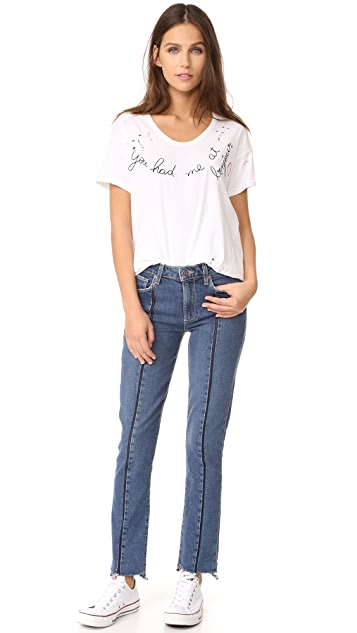 SUNDRY At Bonjour Loose Tee