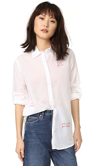SUNDRY Let's Find Oversized Shirt