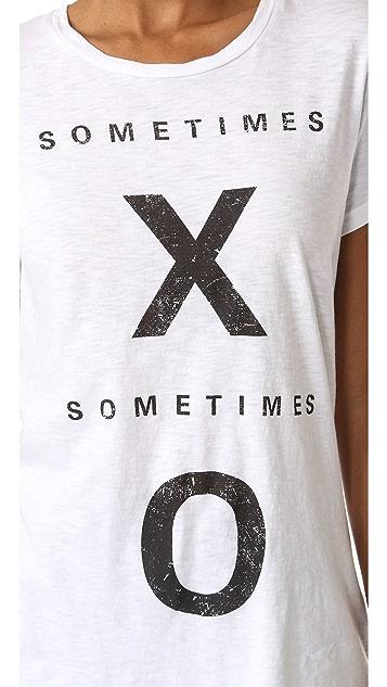 SUNDRY Sometimes XO Tee