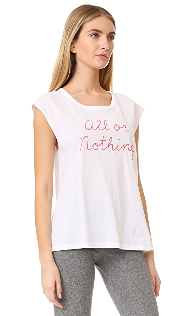 SUNDRY All or Nothing Muscle Tank