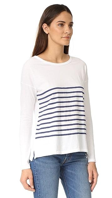 SUNDRY Stripes Long Sleeve