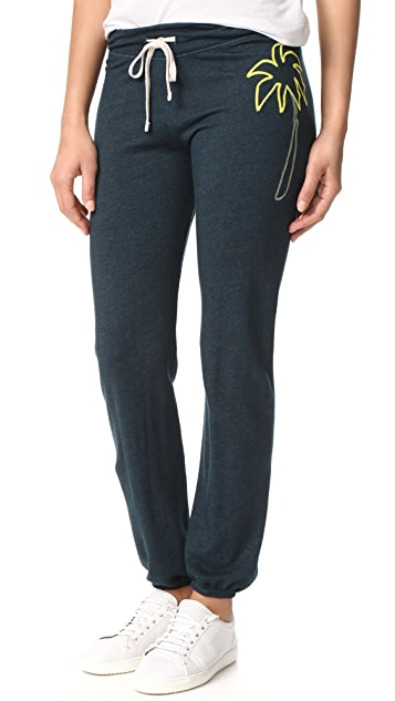 SUNDRY Palm Sweatpants