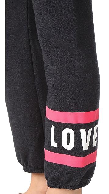 SUNDRY Love Stripes Sweatpants