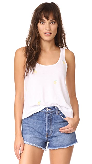 SUNDRY Pineapples Scoop Tank