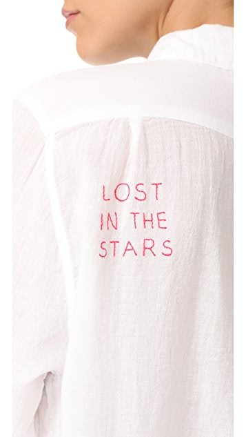 SUNDRY Lost in the Stars Oversized Shirt