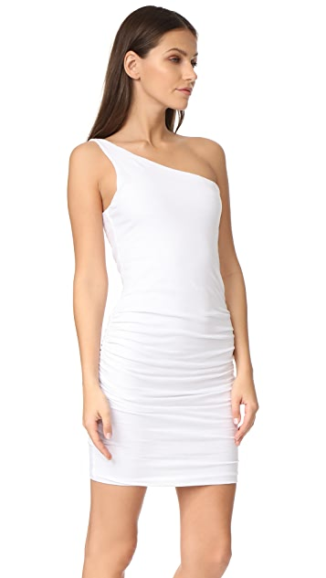 SUNDRY One Shoulder Dress