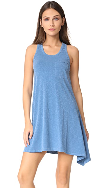 SUNDRY Asymmetric Tank Dress