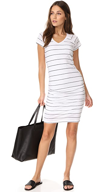 SUNDRY V Neck Dress