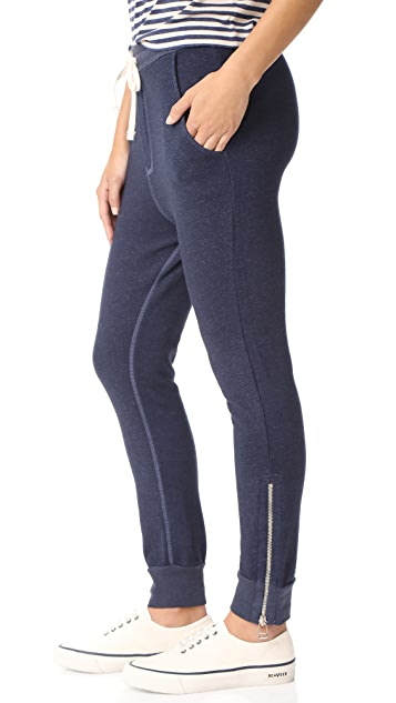SUNDRY Slash Pocket Zipper Sweatpants