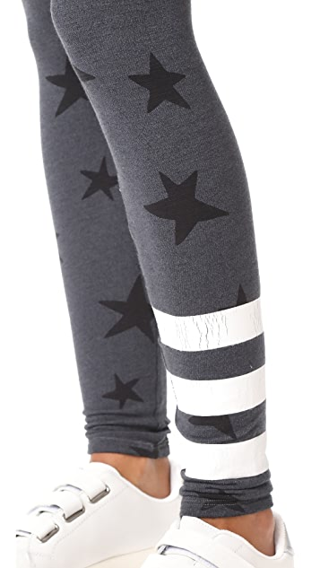 SUNDRY Active Star Yoga Leggings