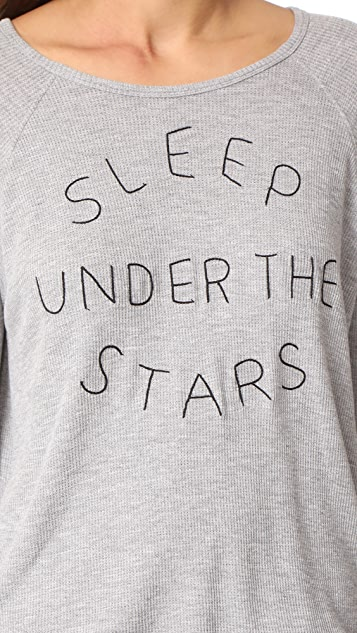 SUNDRY Sleep Under The Stars PJ Set