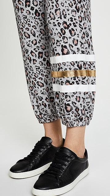 SUNDRY Sweatpants with Foil Stripes