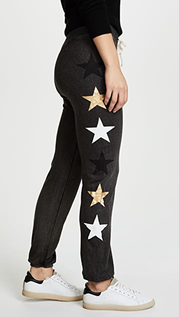 SUNDRY Sweatpants with Side Stars