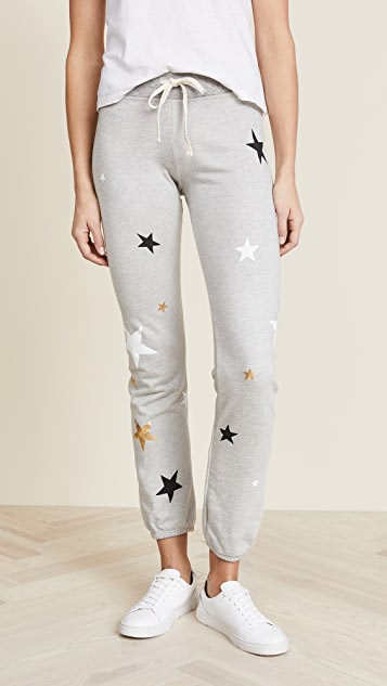 SUNDRY Sweatpants with Stars