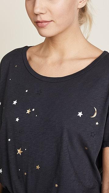 SUNDRY Stars & Moon Loose Tee
