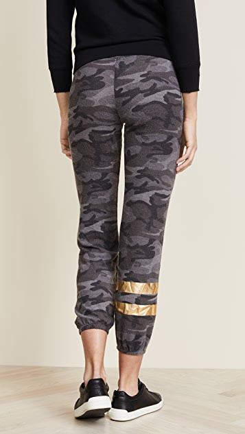 SUNDRY Sweatpants with Foil Stripes