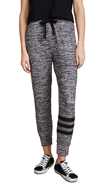 SUNDRY Jogger Sweatpants with Applique