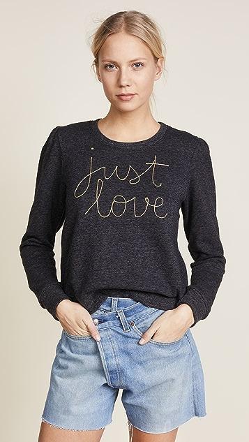 SUNDRY Just Love Sweatshirt