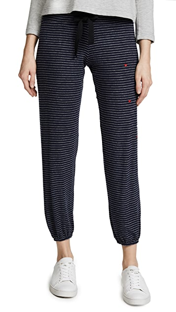 SUNDRY Mini Hearts Sweatpants