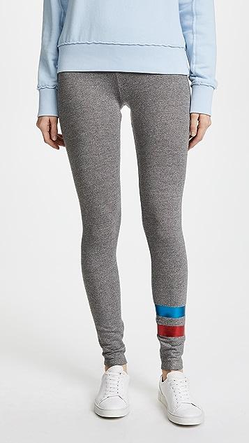 SUNDRY Foil Stripes Yoga Pants