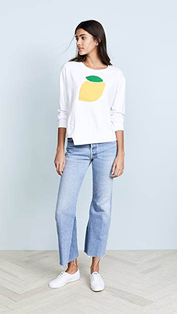 SUNDRY Lemon Sweatshirt