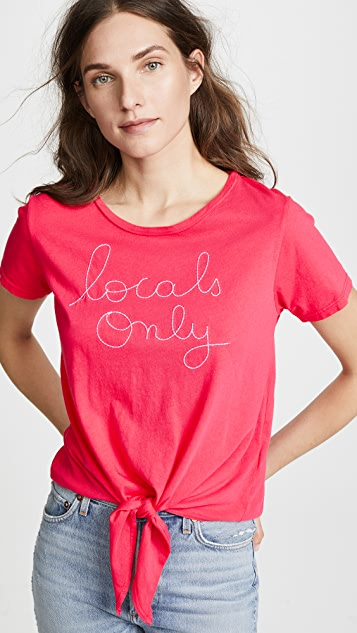 SUNDRY Locals Only Tee