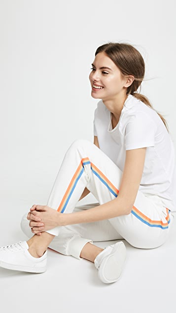 SUNDRY Sweatpants with Stripes