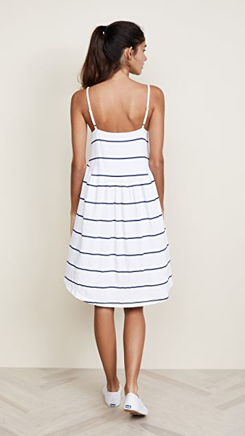 SUNDRY Shirred Dress