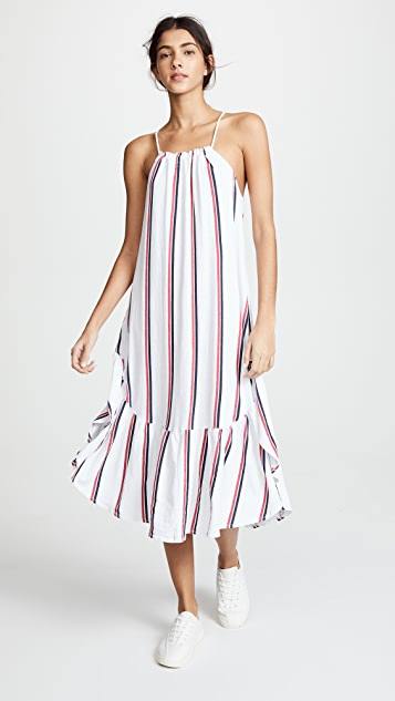SUNDRY Tie Back Maxi Dress