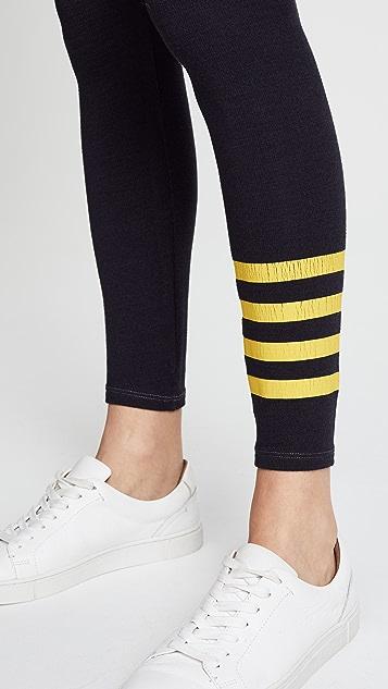 SUNDRY Stripes Yoga Leggings