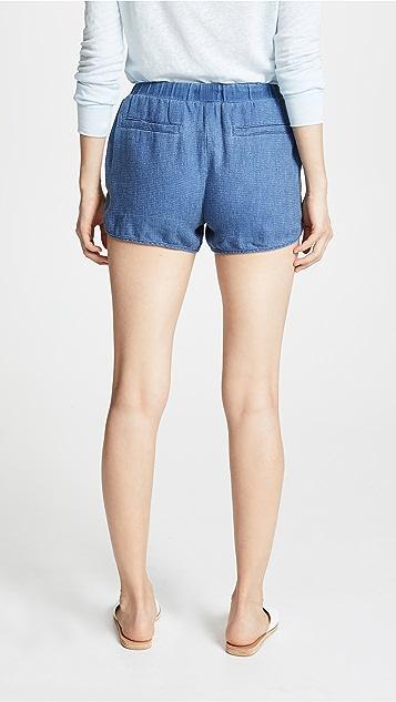SUNDRY Dolphin Hem Shorts