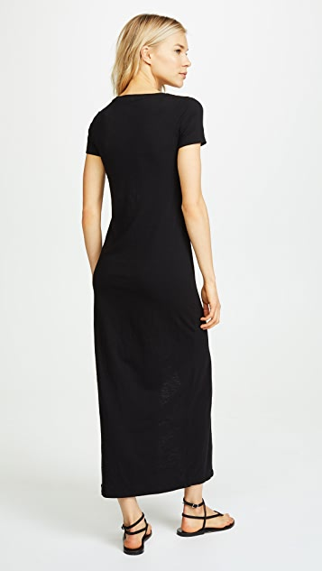 SUNDRY Sheath Maxi Dress