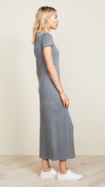 SUNDRY Sheath Maxi Dress