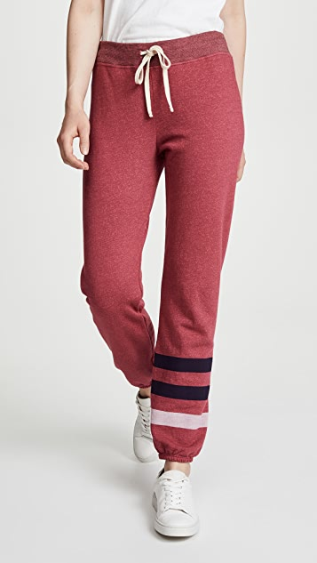 SUNDRY Stripes Basic Sweatpants