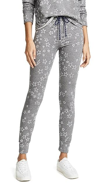 SUNDRY Stars Skinny Sweatpants