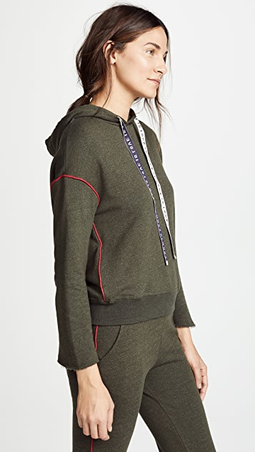 SUNDRY Hoodie with Piping