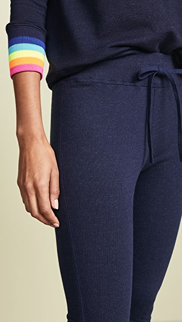 SUNDRY Sweats with Multicolor Rib