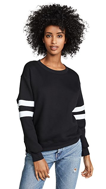 SUNDRY Side Zip Sweatshirt
