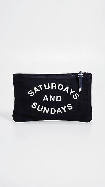 SUNDRY Saturdays and Sundays Pouch