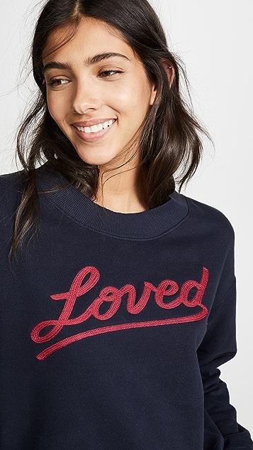 SUNDRY Loved Sweatshirt