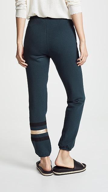 SUNDRY Boyfriend Stripes Sweatpants