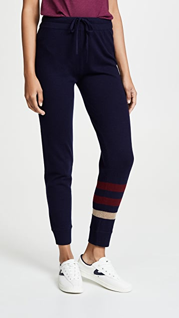 SUNDRY Cozy Stripes Sweatpants