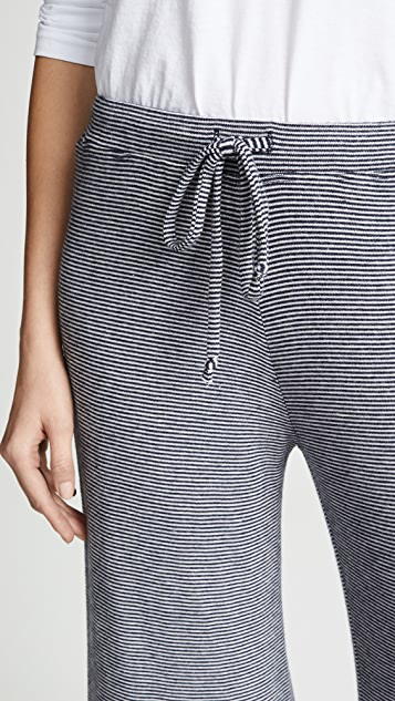 SUNDRY Striped Lounge Pants