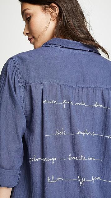 SUNDRY Oversized Buttondown Shirt