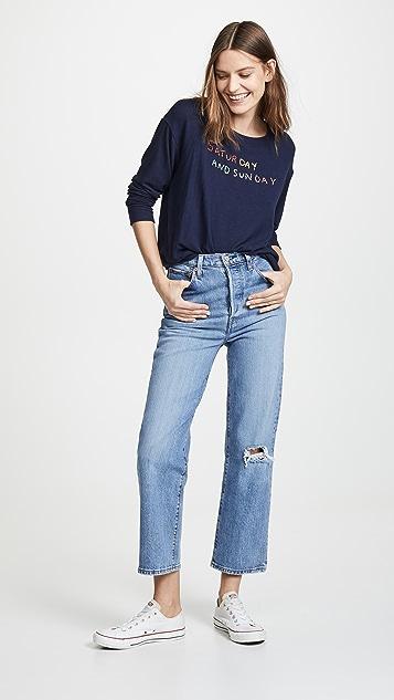 SUNDRY Saturdays + Sundays Sweatshirt