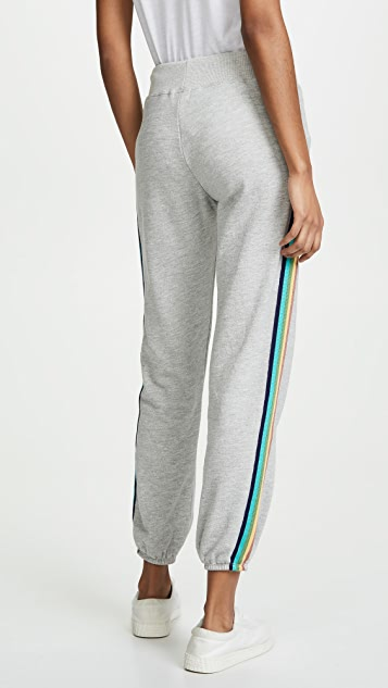 SUNDRY Rainbow Sweatpants