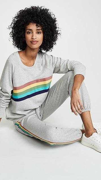 SUNDRY Rainbow Sweatpants